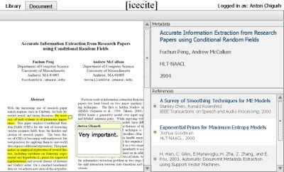 Icecite Screenshot